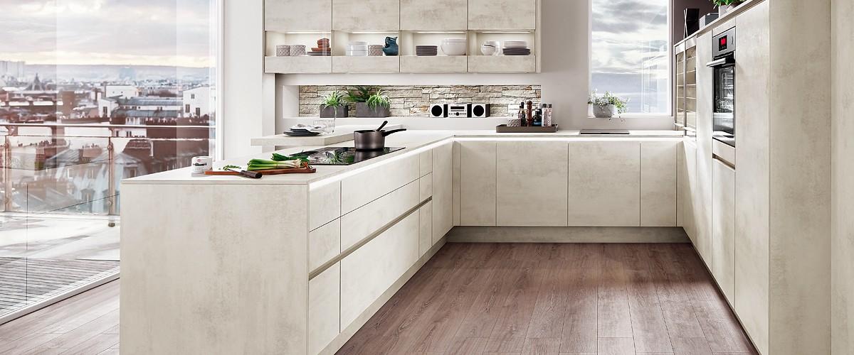 Design-Küche Riva891 von Nobilia - günstig kaufen beim Küchensonderverkauf