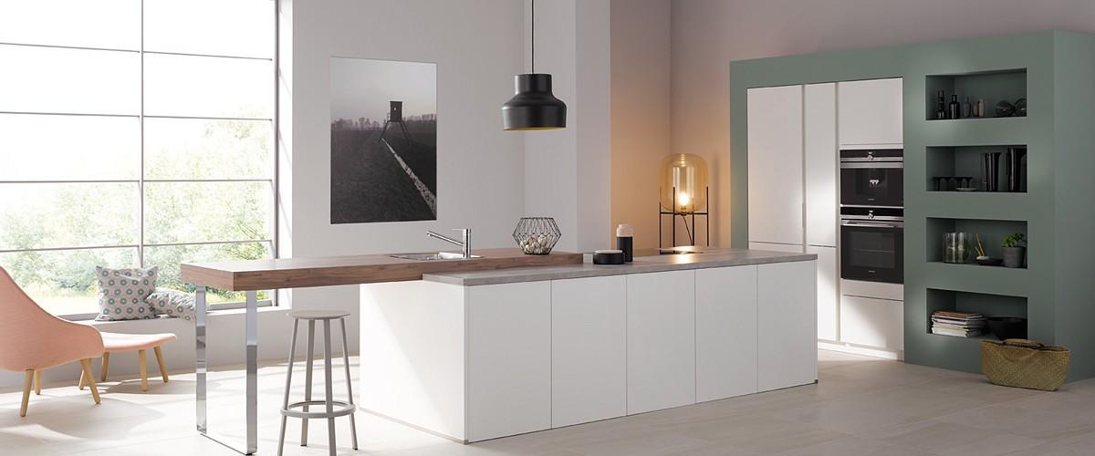 Moderne Küche Fogra39 von Bauformat - günstig kaufen beim Küchensonderverkauf