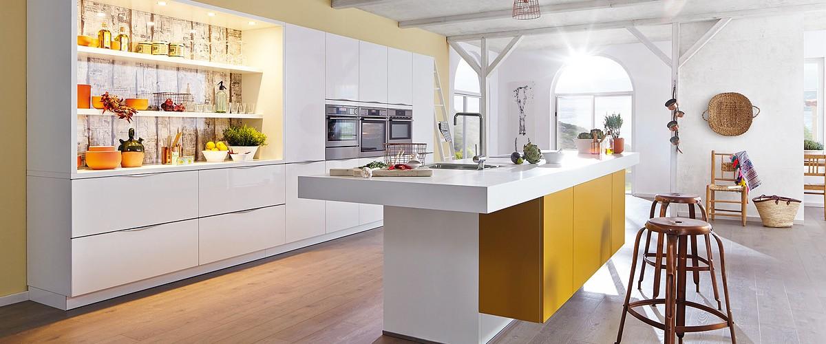 die moderne küche - elegant und innovativ - günstig küchen kaufen, Hause ideen