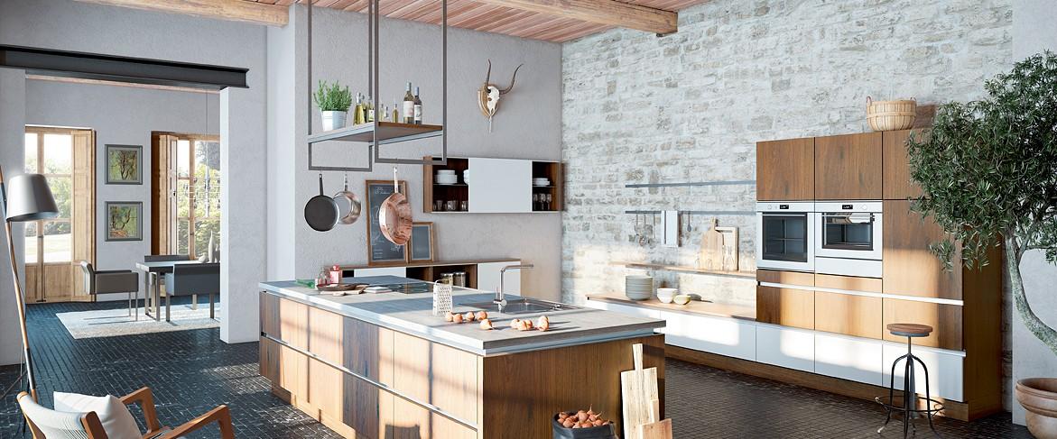 Landhausküche Sierra von Wellmann - günstig kaufen beim Küchensonderverkauf