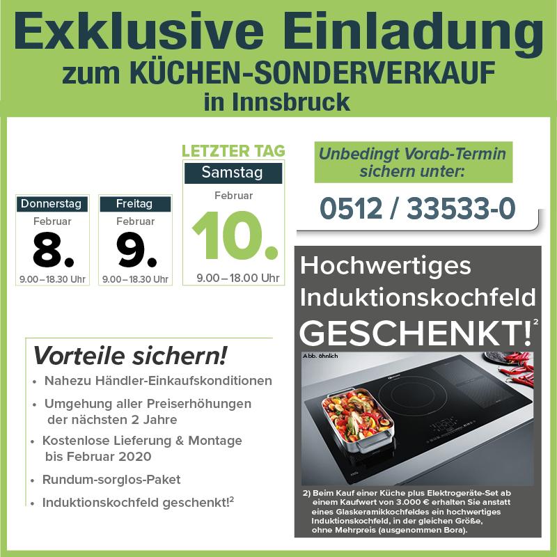 Küchen Sonderverkauf Avanti 6020 Innsbruck Günstig Küchen Kaufen